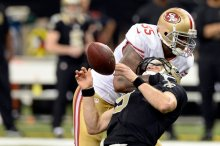 NFL: San Francisco 49ers at New Orleans Saints